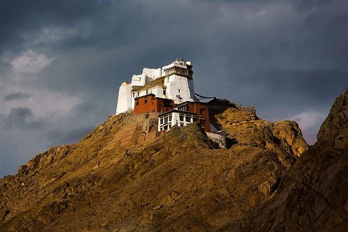 Namgyal Tsemo Monastery Of Leh- sheet1