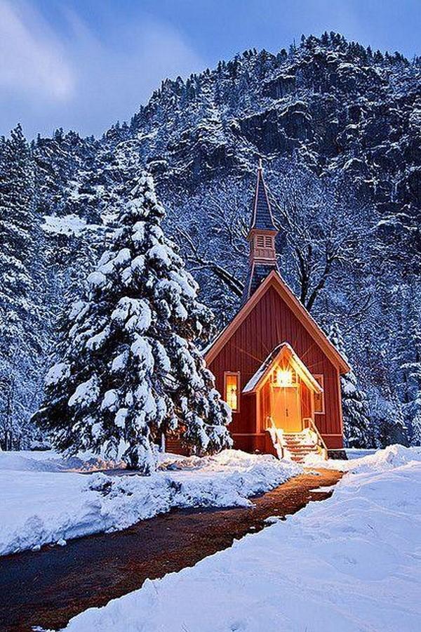 Yosemite Valley Chapel - Sheet1
