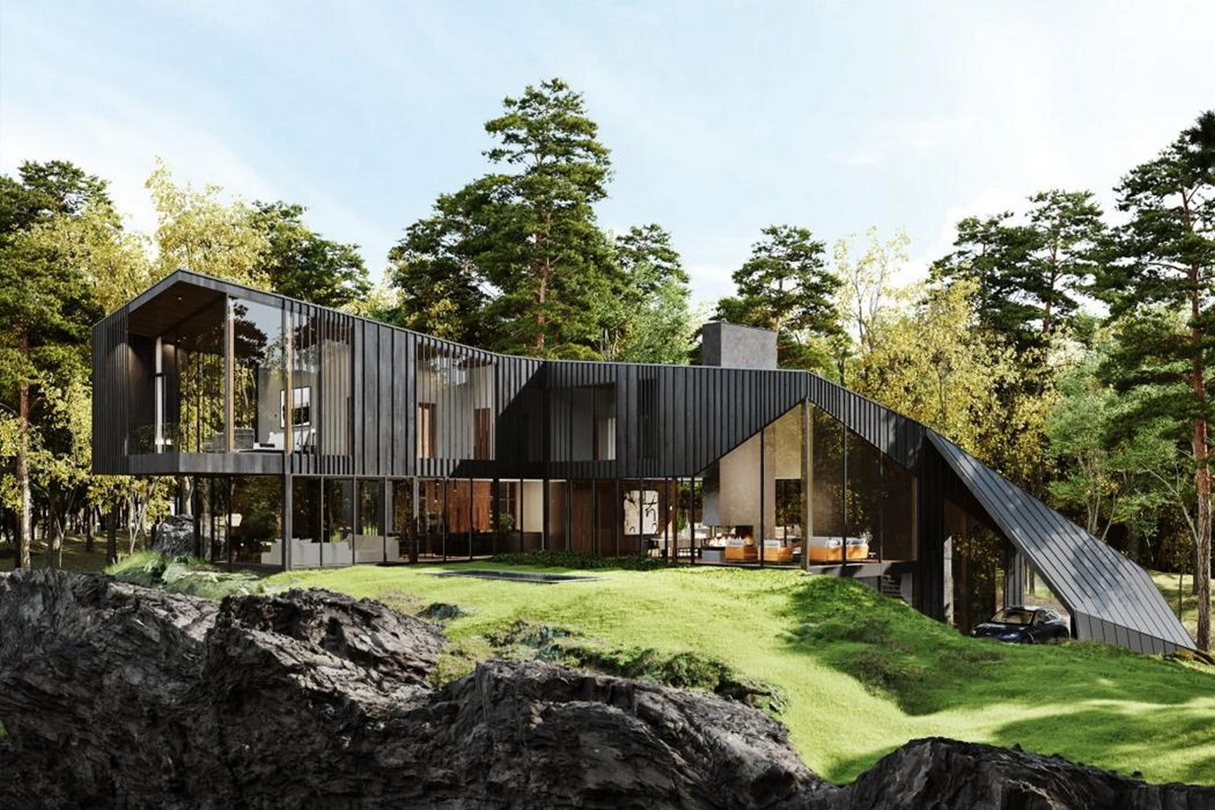 A luxury, sustainable, private residence in New York for $10.8million! designed by Aston Martin- sheet2