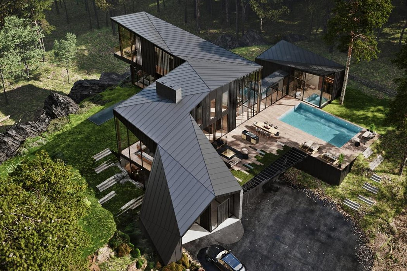 A luxury, sustainable, private residence in New York for $10.8million! designed by Aston Martin- sheet3