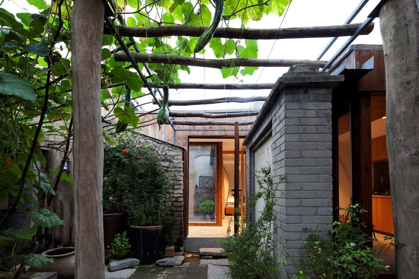 Family residence with hidden passages in rural China renovated by Chaoffice- sheet1