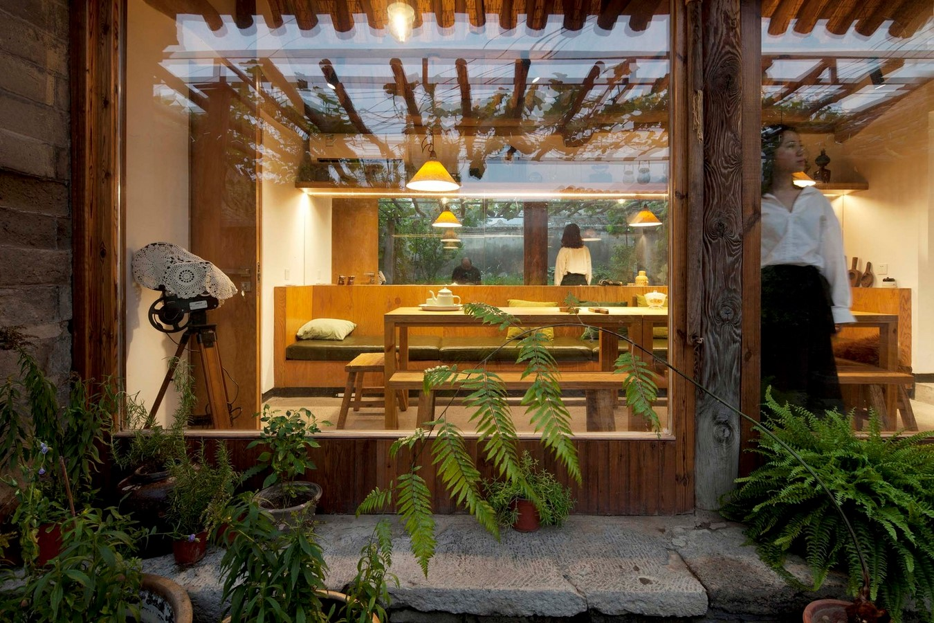 Family residence with hidden passages in rural China renovated by Chaoffice- sheet11