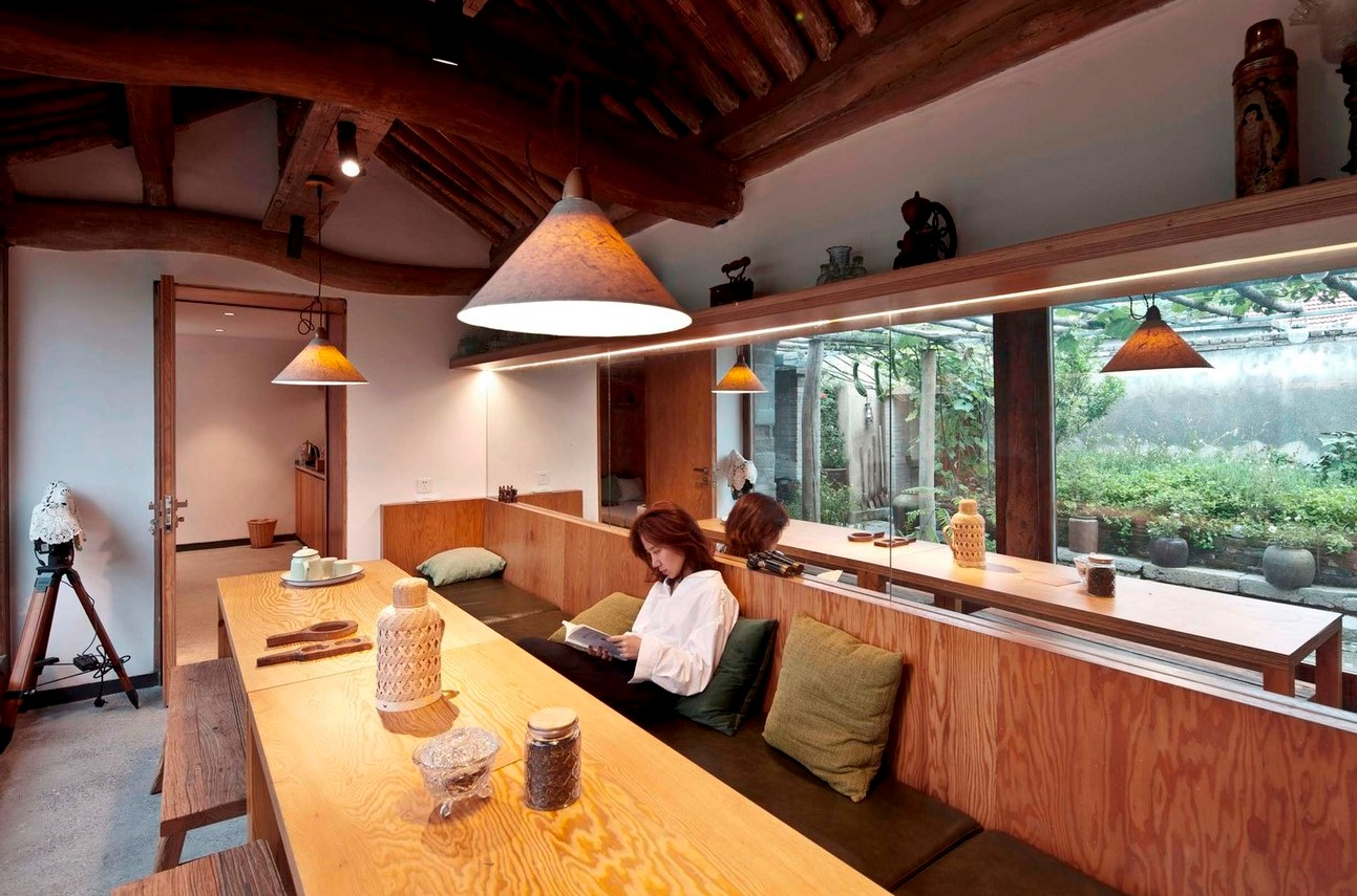 amily residence with hidden passages in rural China renovated by Chaoffice- sheet13