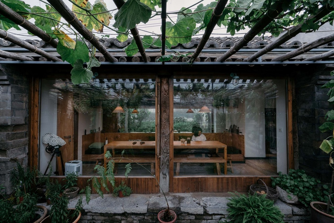 Family residence with hidden passages in rural China renovated by Chaoffice- sheet15