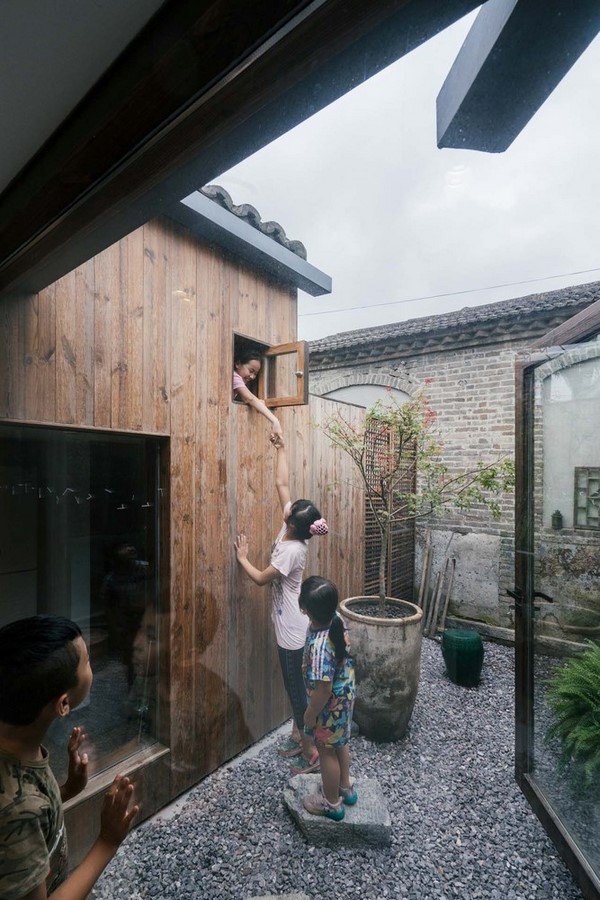 Family residence with hidden passages in rural China renovated by Chaoffice- sheet3