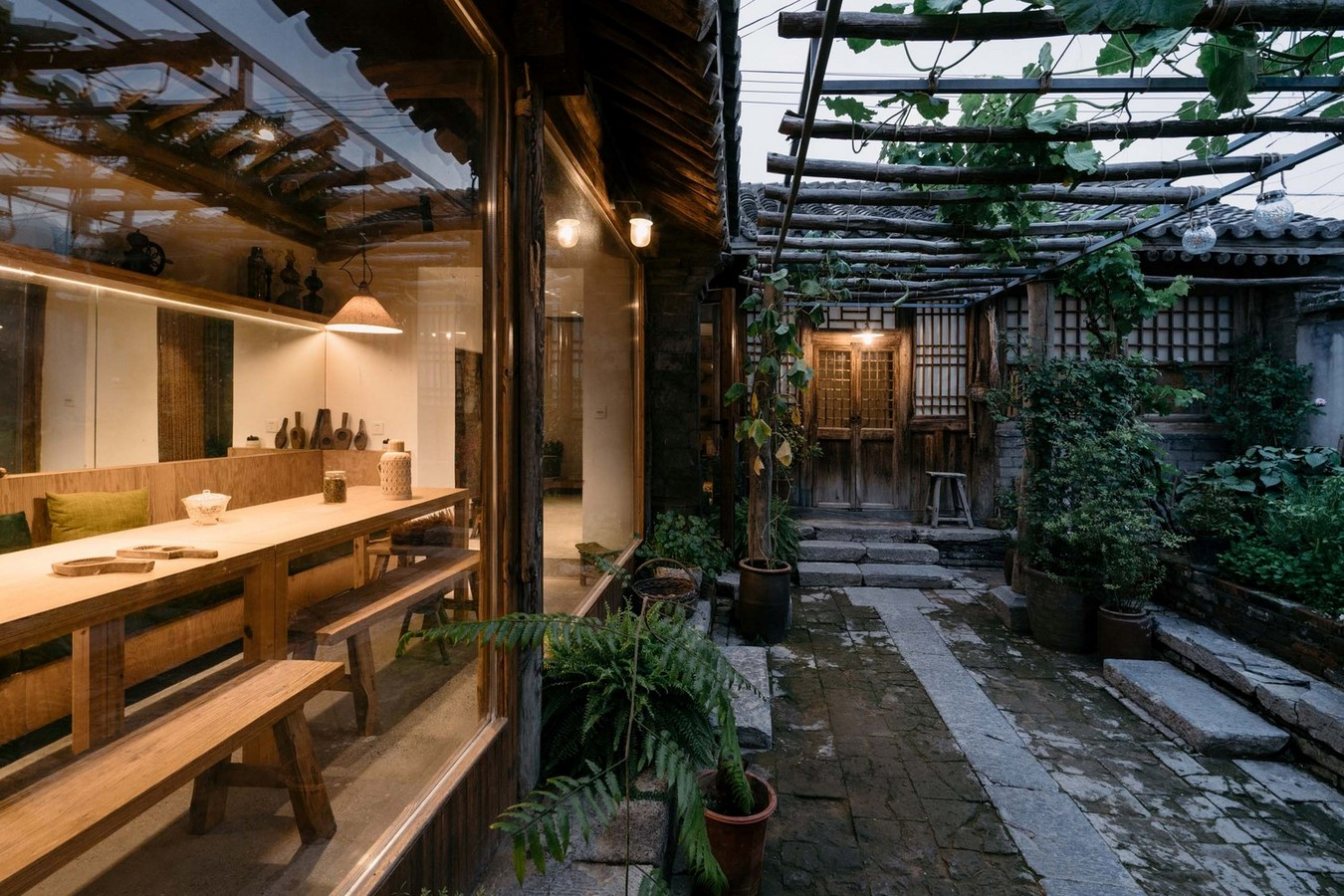Family residence with hidden passages in rural China renovated by Chaoffice- sheet4