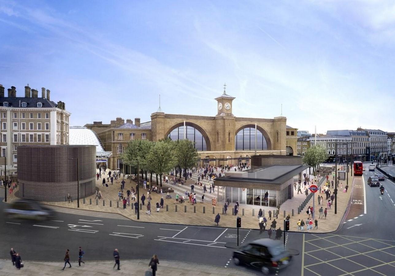 King Cross square, London- sheet1