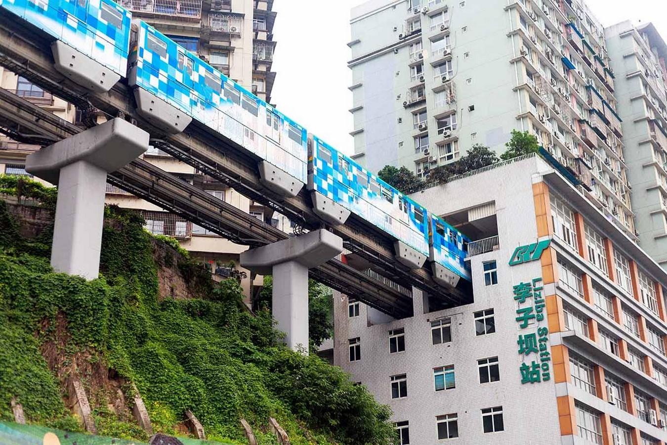 Liziba Metro Station, Chongqing, China- sheet2