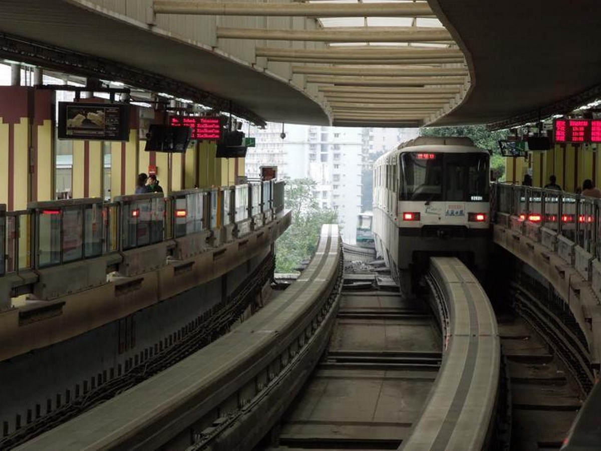 Liziba Metro Station, Chongqing, China- sheet3