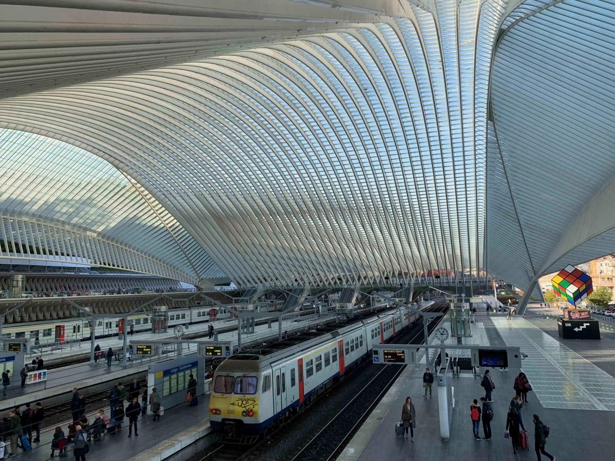 Guillemins TGV Railway Station, Belgium- sheet2