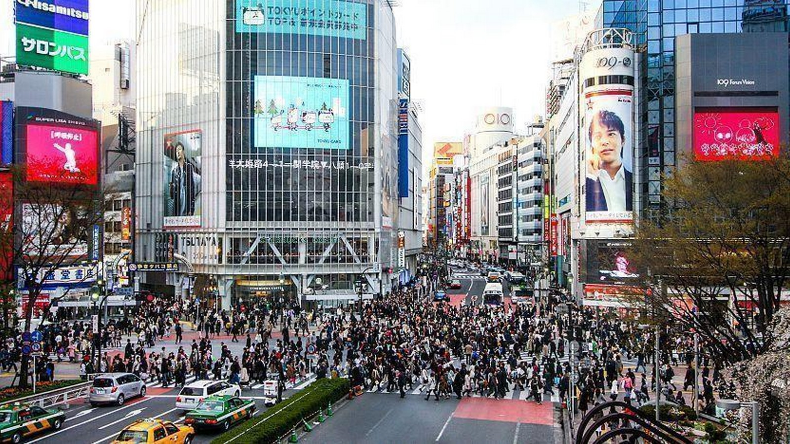 Shibuya junction crossing, Tokyo, Japan- sheet2