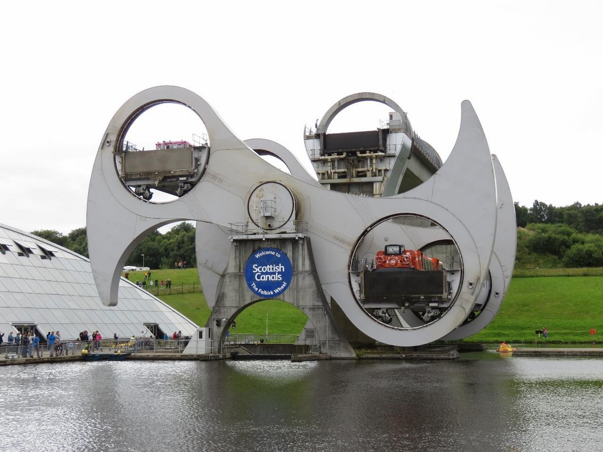 Falkirk Wheel, Scotland- sheet3