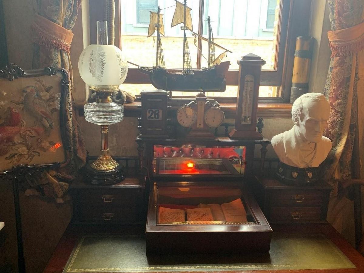 The Sherlock Holmes Museum- sheet3