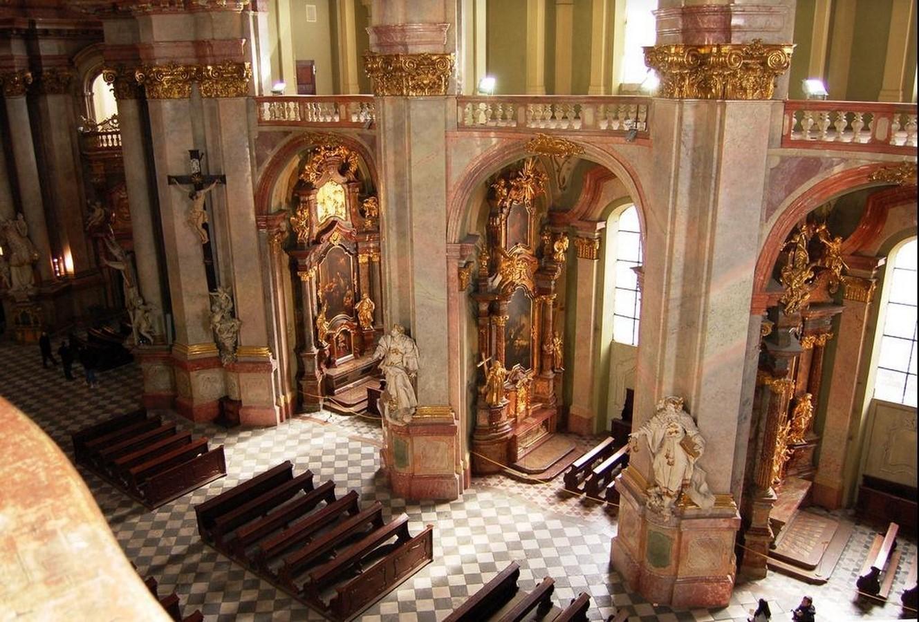 Saint Nicholas Church by Christoph Dientzenhofer- sheet1
