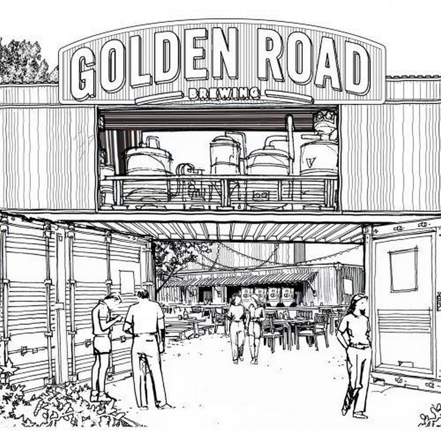 Golden Road Brewing, Sacramento, CA - Sheet1