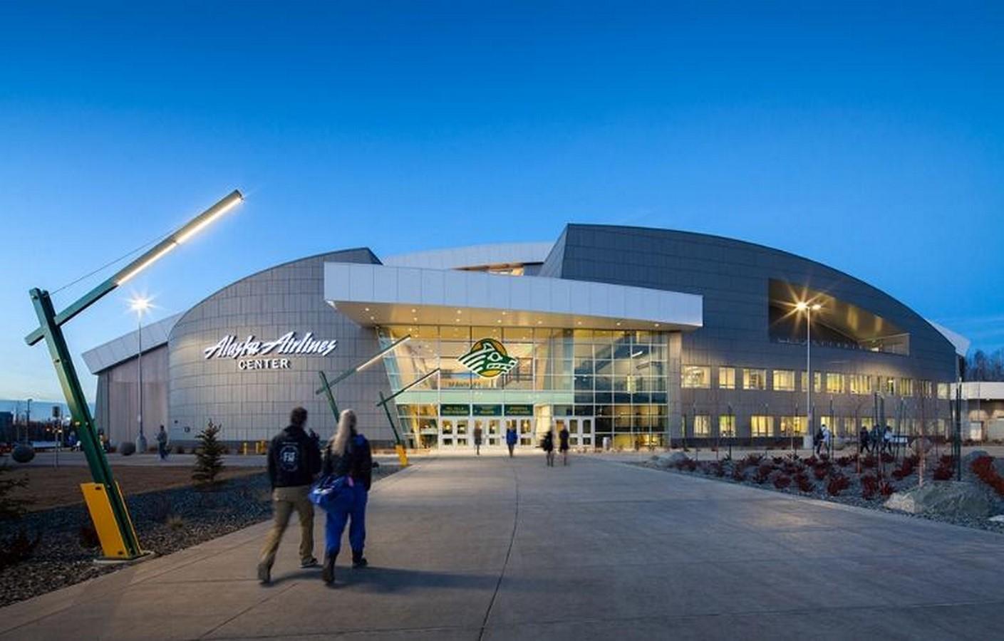 The Alaska Airlines Centre - University of Alaska Anchorage- sheet1