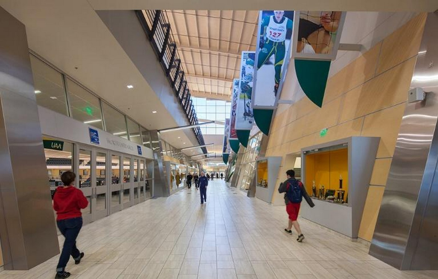 The Alaska Airlines Centre - University of Alaska Anchorage- sheet2