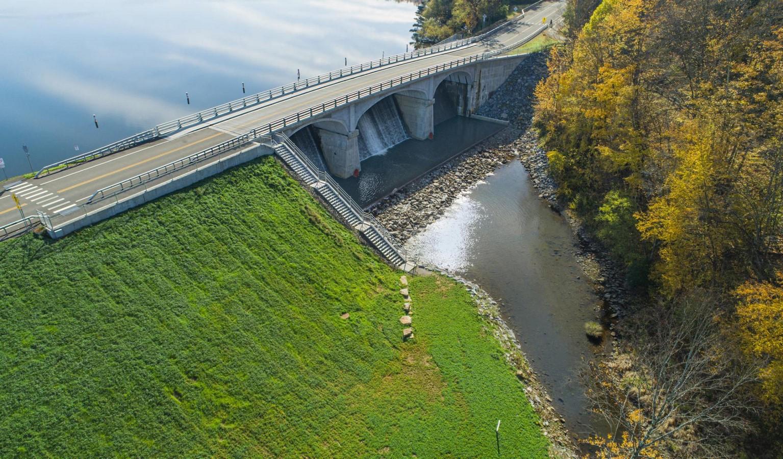 Red House Lake: Dam and Bridge- sheet2