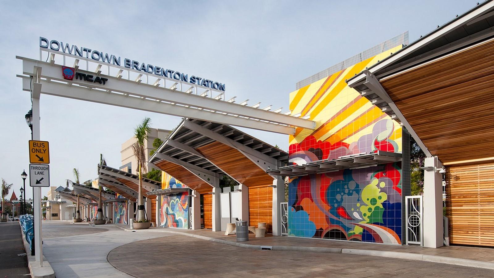 Downtown Bradenton Transit Station- sheet1