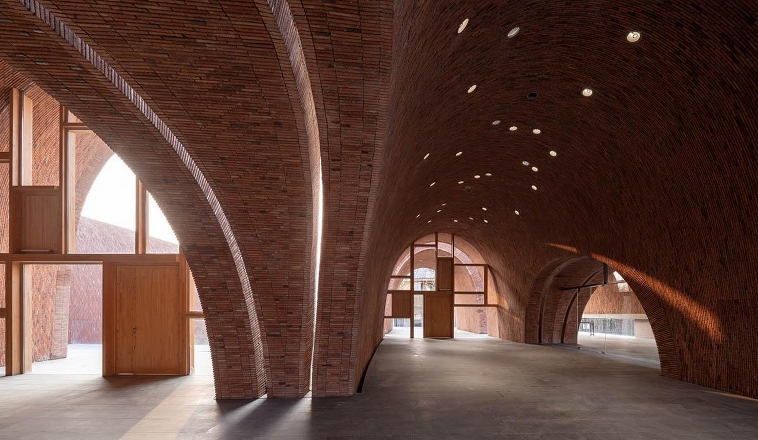 Monumental vaulted museum to honor jingdezhen's ancient kilns completed by Studio Zhu Pei- sheet1