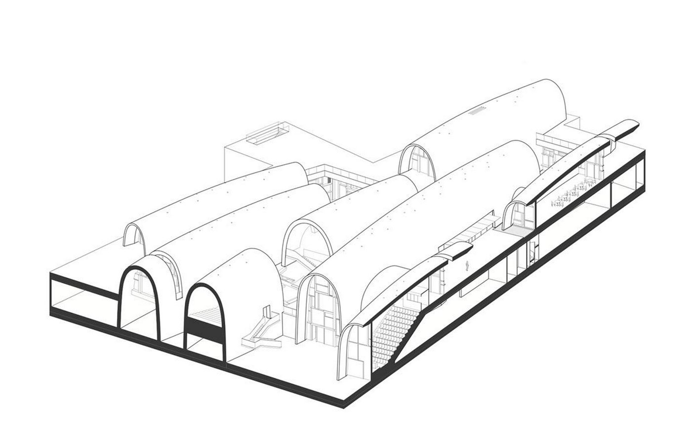 Monumental vaulted museum to honor jingdezhen's ancient kilns completed by Studio Zhu Pei- sheet12