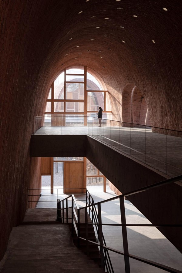 Monumental vaulted museum to honor jingdezhen's ancient kilns completed by Studio Zhu Pei- sheet3