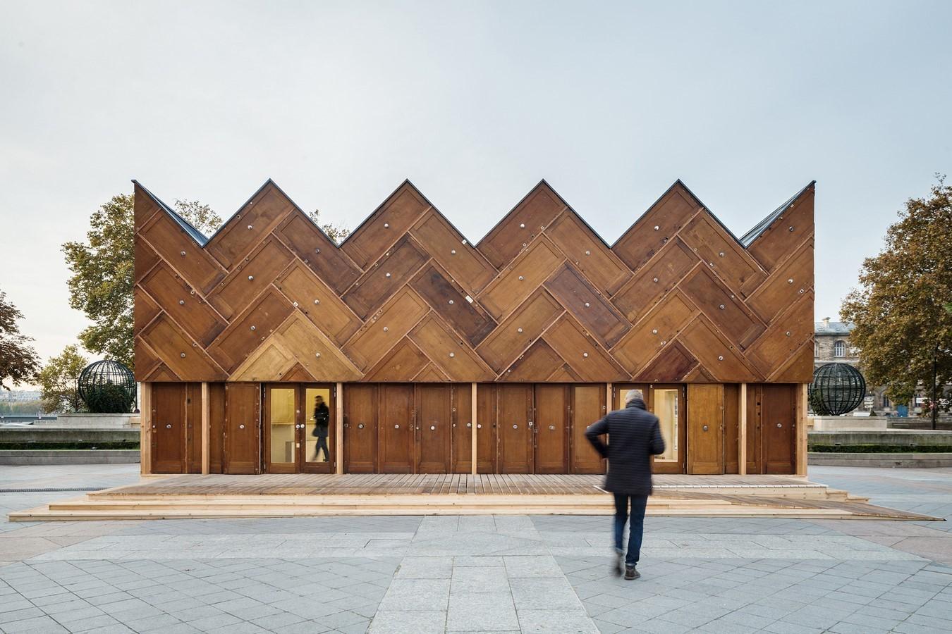 Project - The Circular Pavilion, Paris, France- sheet1
