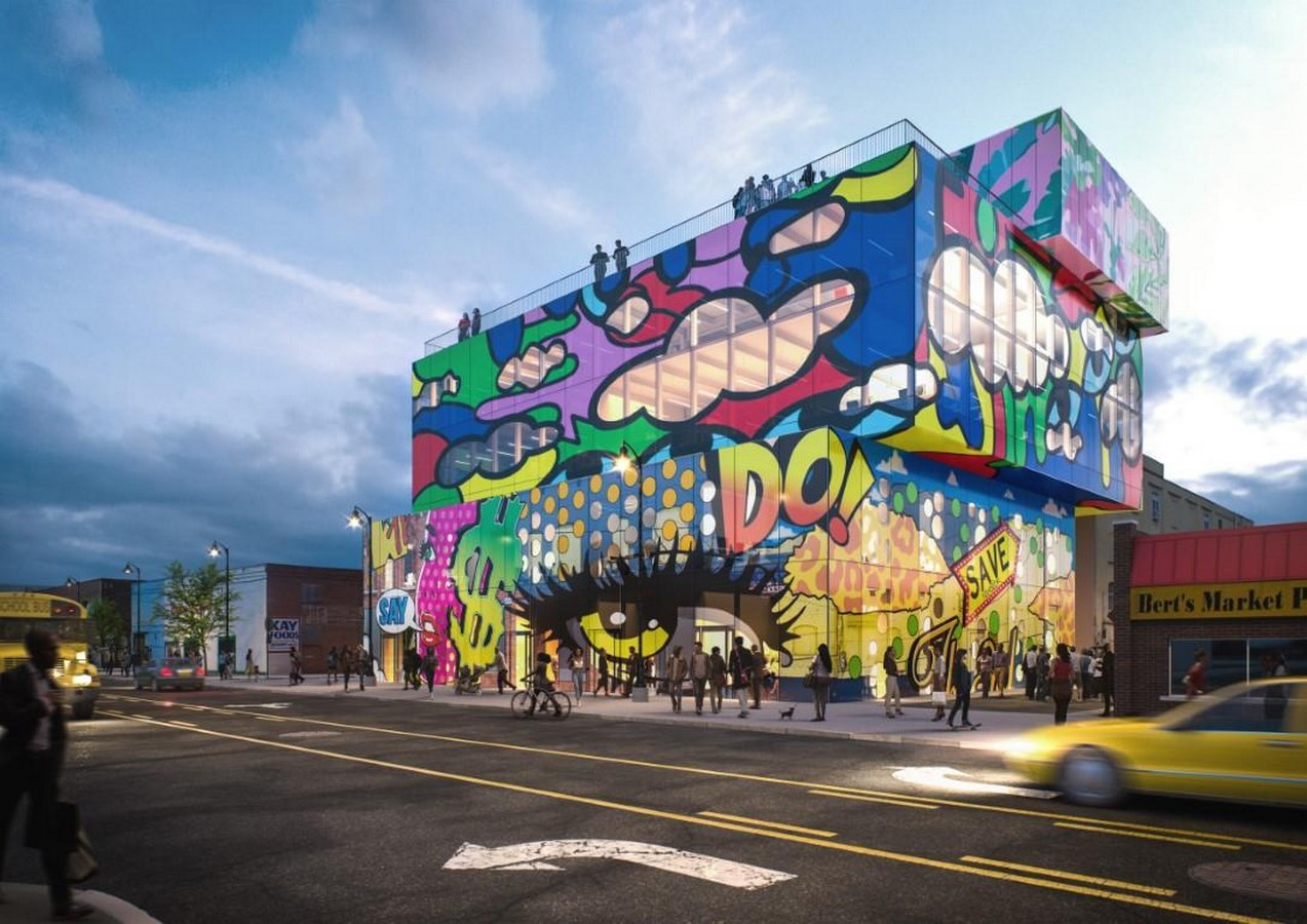 Glass mural' will preserve and promote the street art of Detroit comissioned by MVRDV - Sheet1