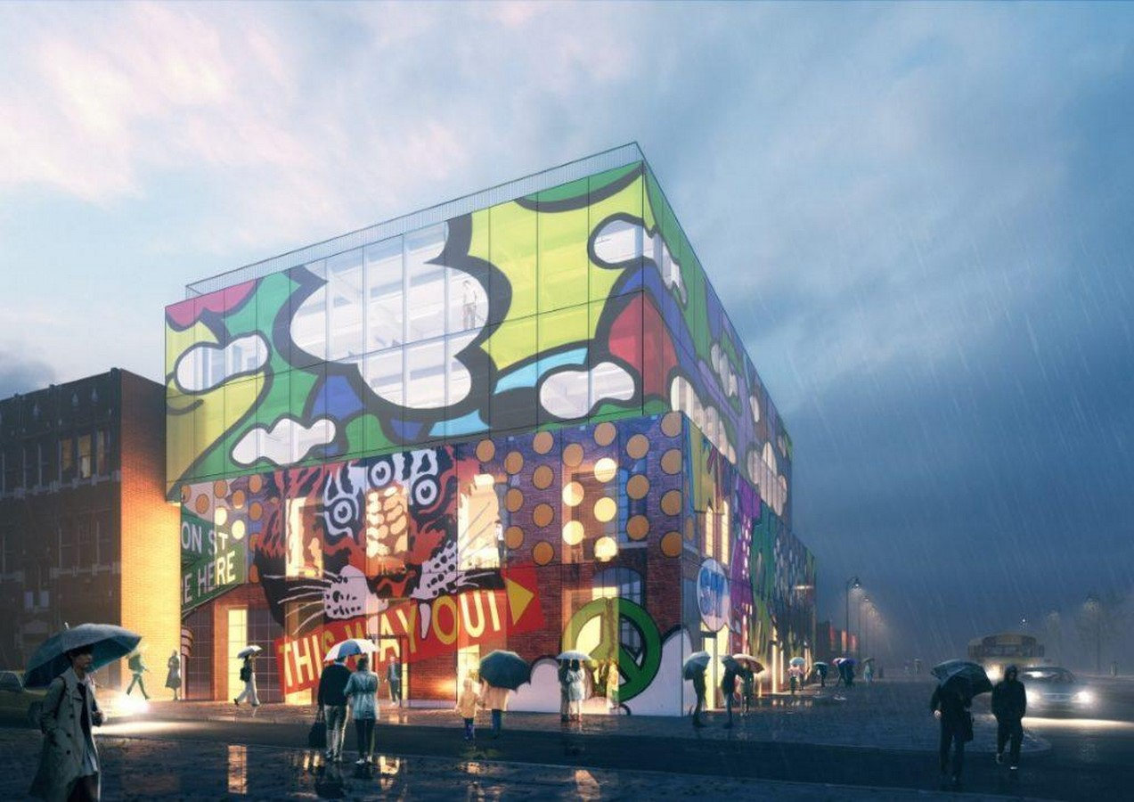 Glass mural' will preserve and promote the street art of Detroit comissioned by MVRDV - Sheet2
