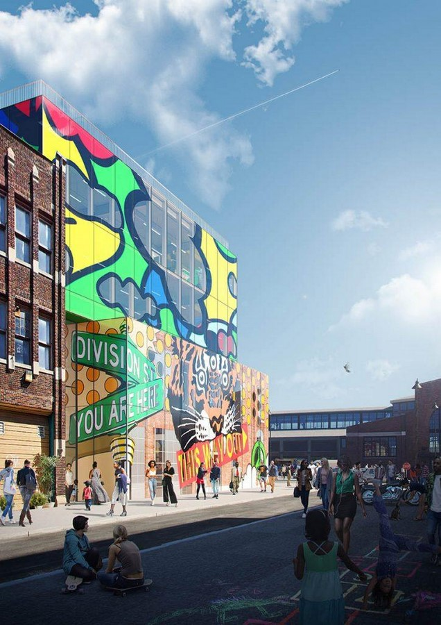 Glass mural' will preserve and promote the street art of Detroit comissioned by MVRDV - Sheet3