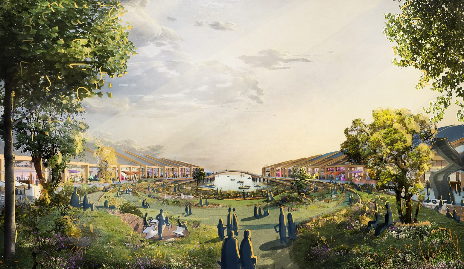 Flood-resilient park The Cove for San Francisco designed by Heatherwick Studio- sheet2