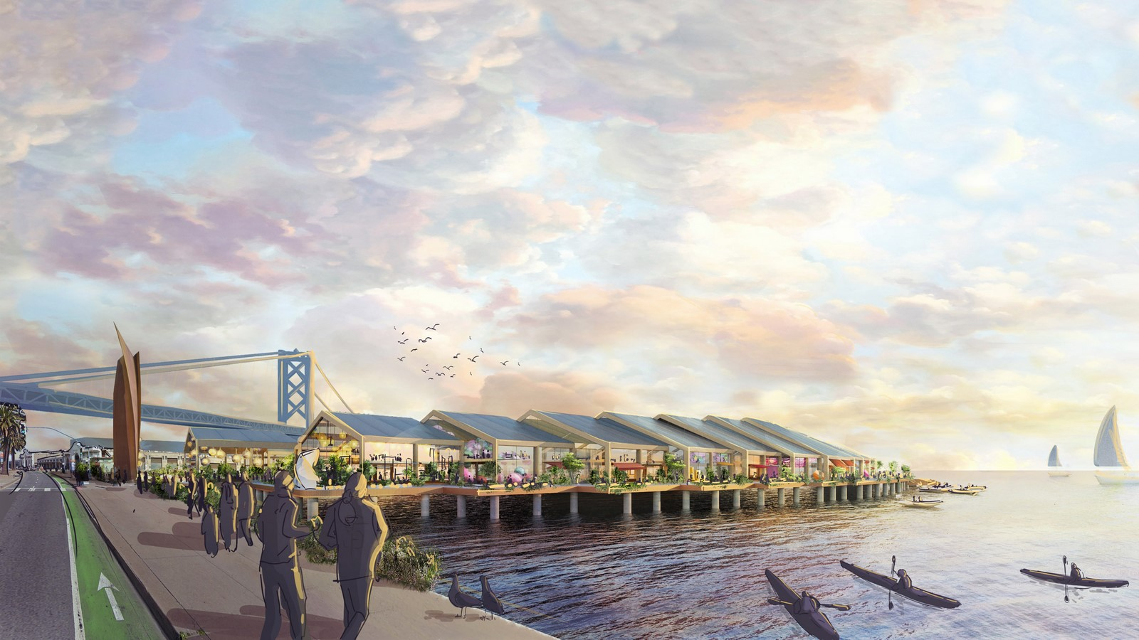 Flood-resilient park The Cove for San Francisco designed by Heatherwick Studio- sheet3