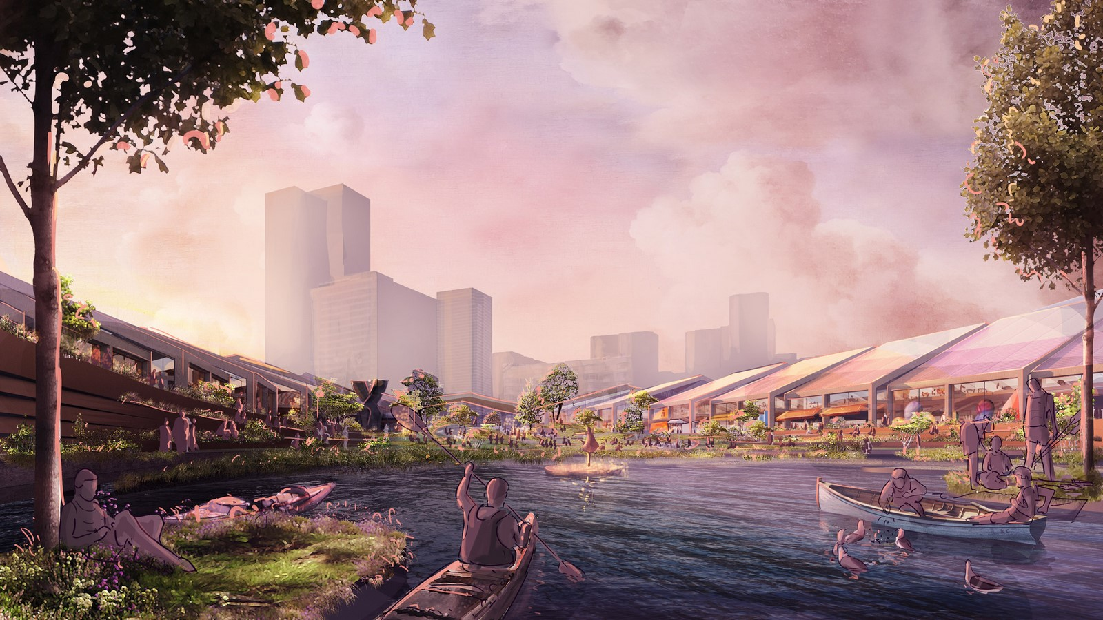 Flood-resilient park The Cove for San Francisco designed by Heatherwick Studio- sheet4