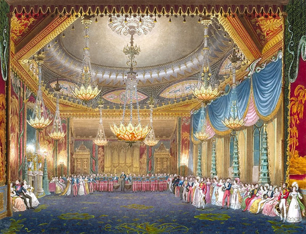 Royal Pavilion, Brighton by John Nash: Extraordinary inside out- sheet6