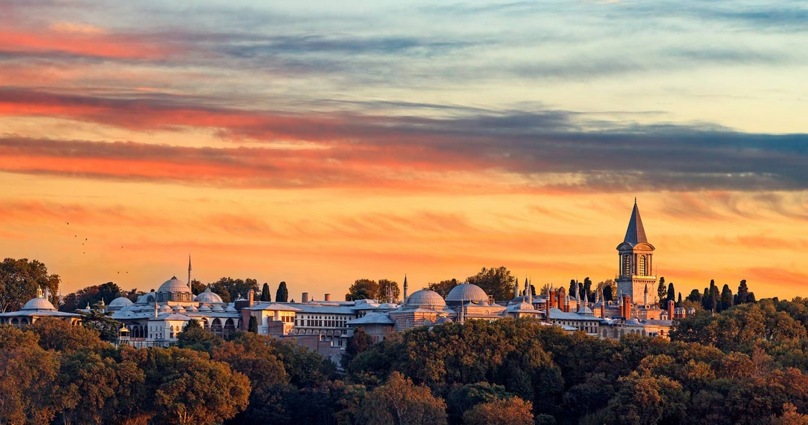 Topkapi Palace, Istanbul, Turkey: The mélange of architectural styles- sheet1