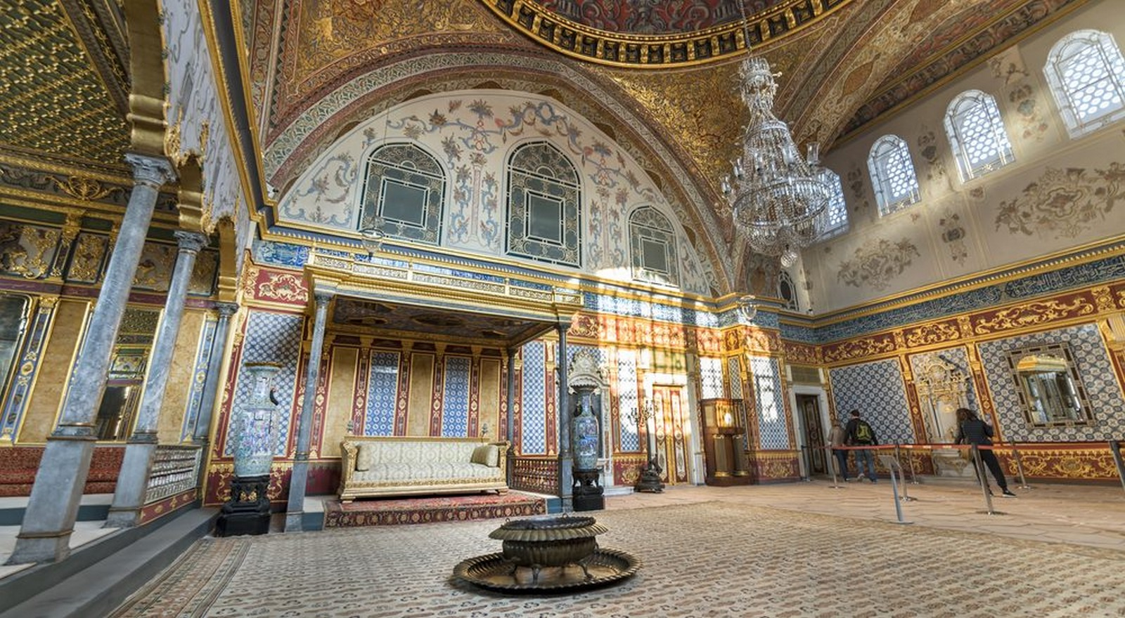 Topkapi Palace, Istanbul, Turkey: The mélange of architectural styles- sheet2