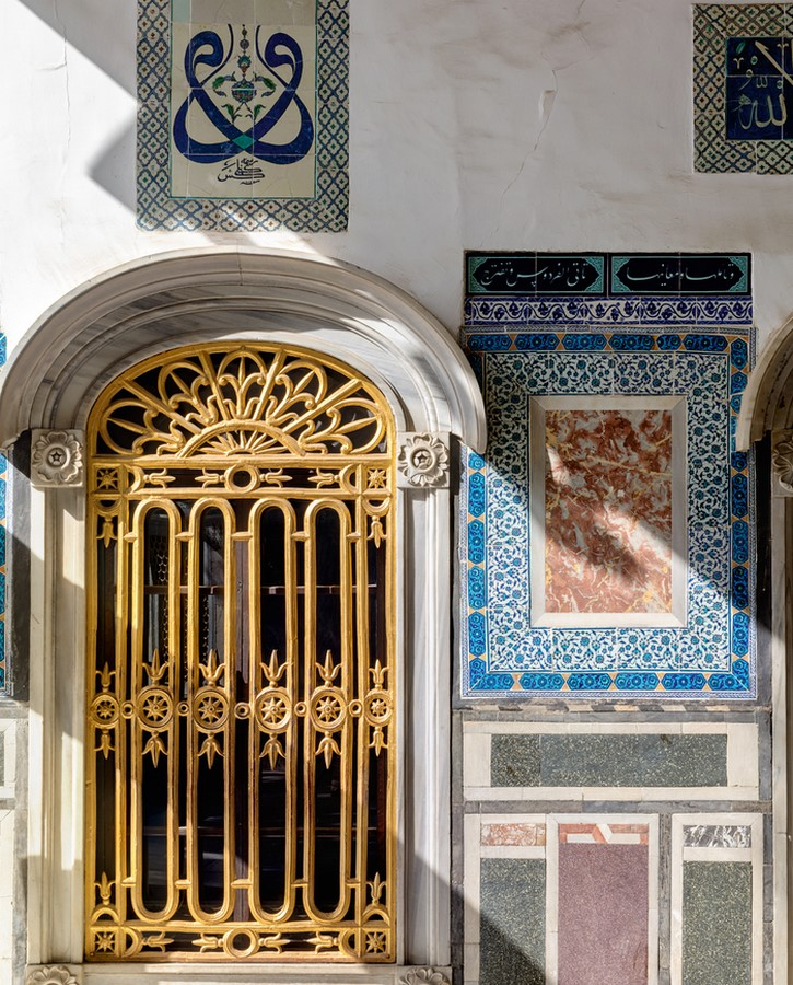 Topkapi Palace, Istanbul, Turkey: The mélange of architectural styles- sheet3