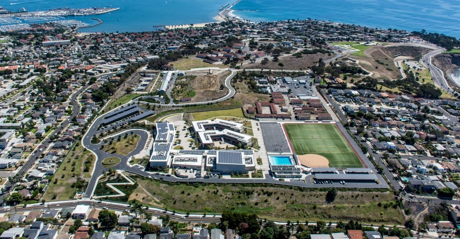 LAUSD San Pedro High School: Olguin Campus, California- sheet2