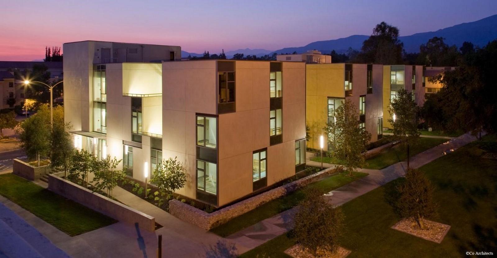 Claremont McKenna College Residence Hall, California- sheet1