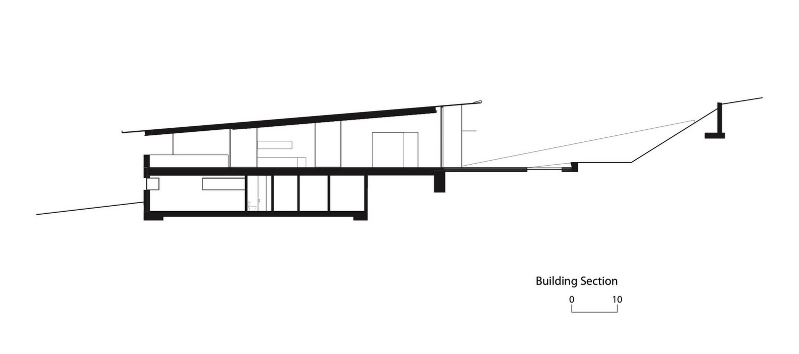 Three-storey coloured window, Lookout House created by Faulkner Architects - Sheet15