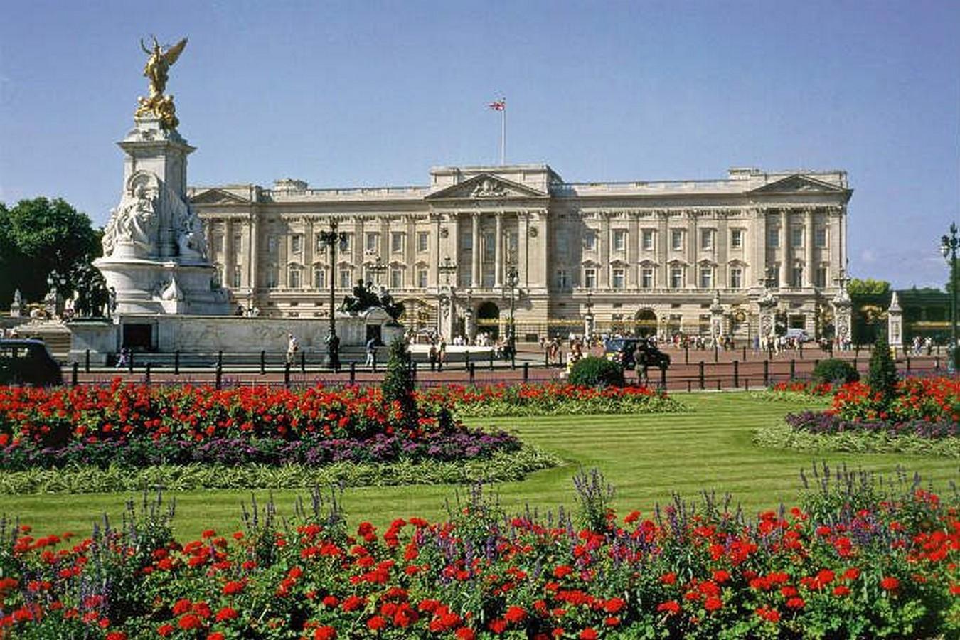 Buckingham Palace by John Nash- Home to the Monarchs- sheet9