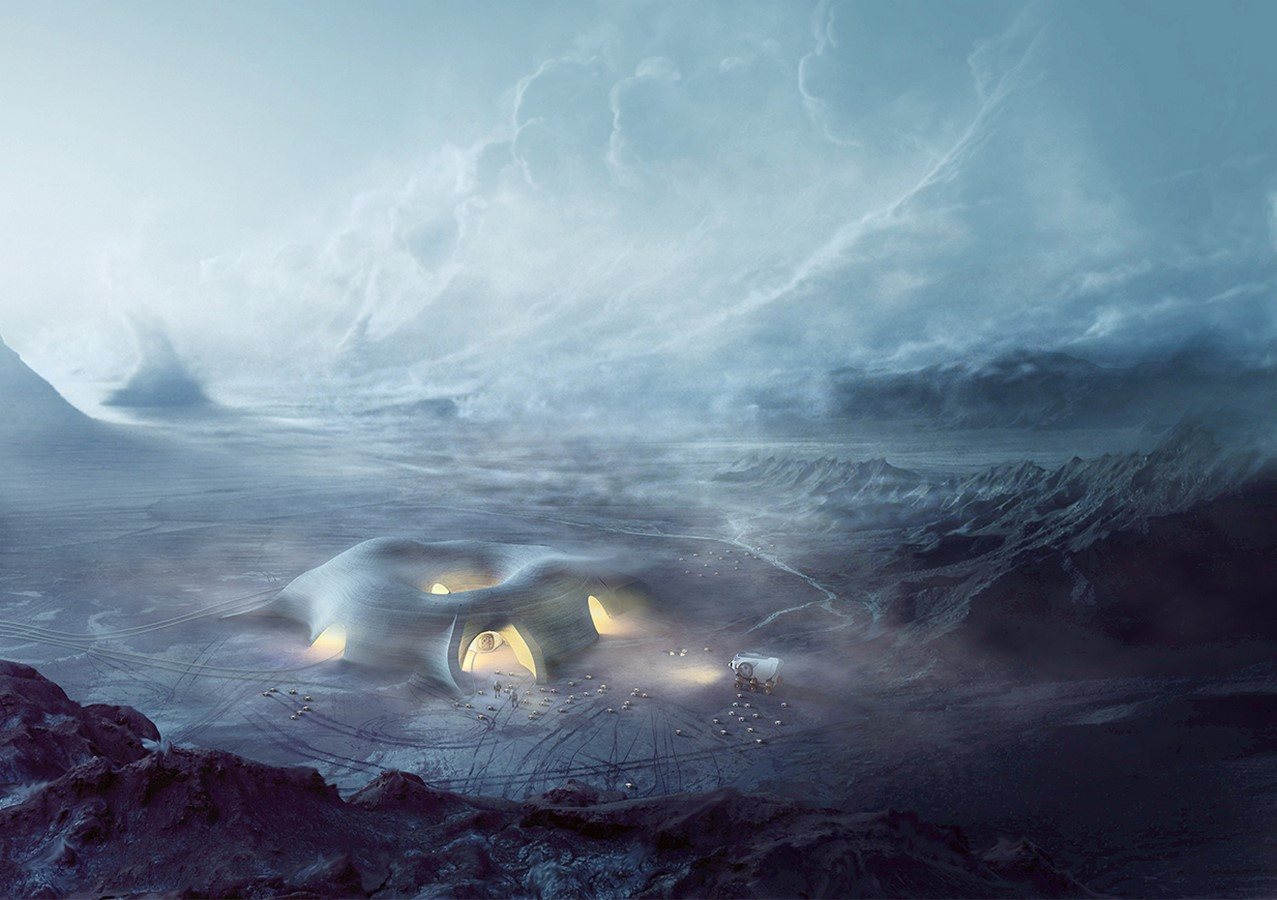 The Mars Habitat by Eckersley O'Callaghan and HASSELL architects- Sustainability in Space- sheet1
