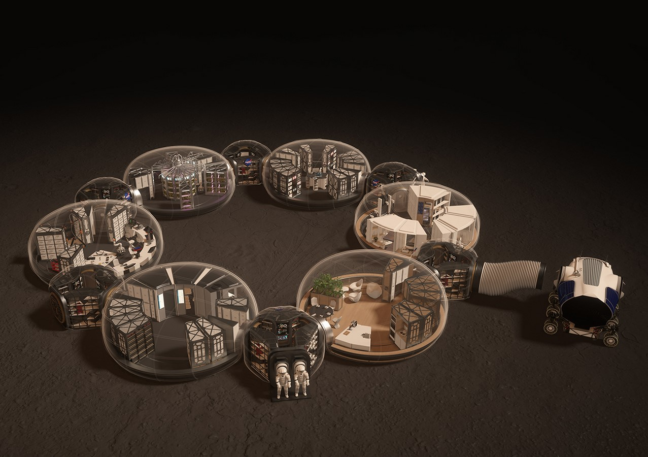 The Mars Habitat by Eckersley O'Callaghan and HASSELL architects- Sustainability in Space- sheet4