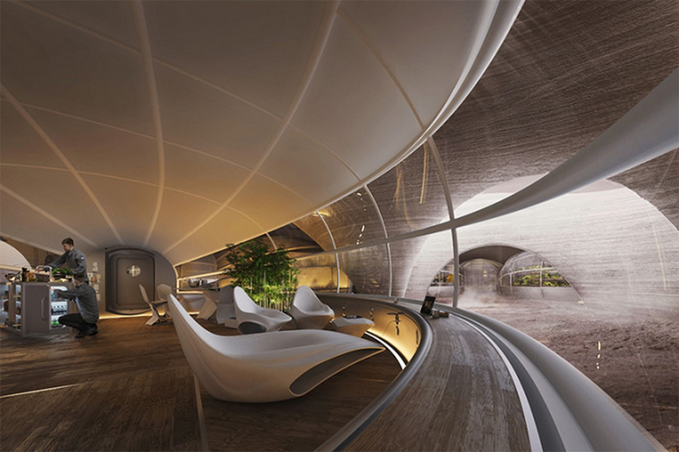 The Mars Habitat by Eckersley O'Callaghan and HASSELL architects- Sustainability in Space- sheet6