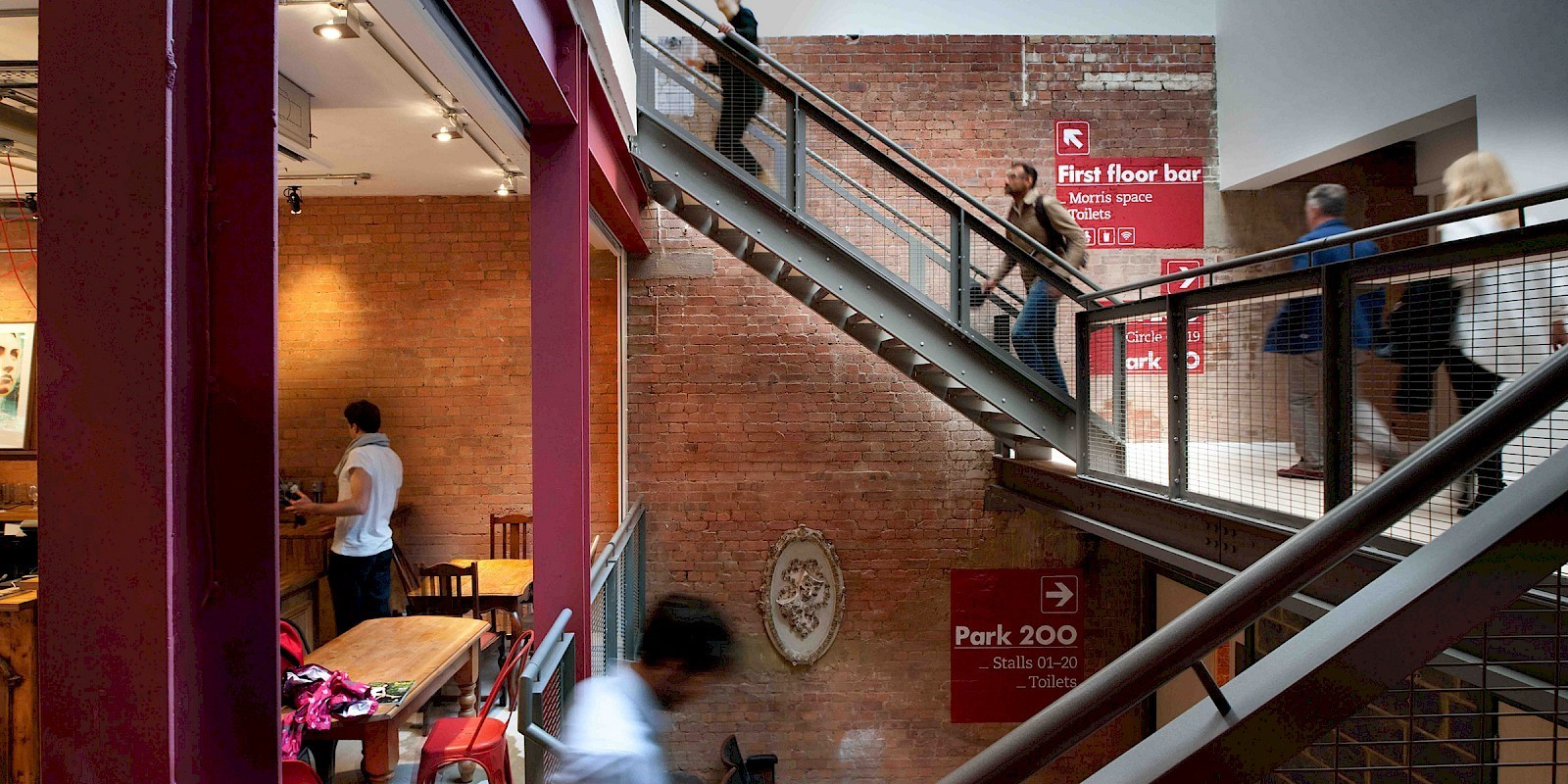 PARK THEATRE CAFE BAR, FINSBURY PARK - Sheet2
