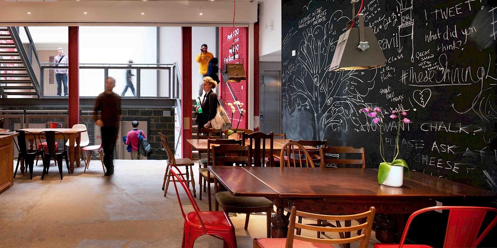 PARK THEATRE CAFE BAR, FINSBURY PARK - Sheet3