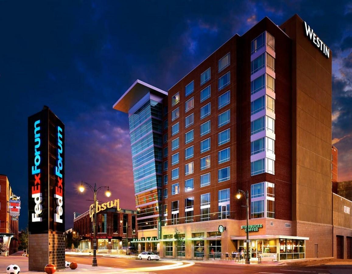 WESTIN MEMPHIS BEALE STREET HOTEL - Sheet1