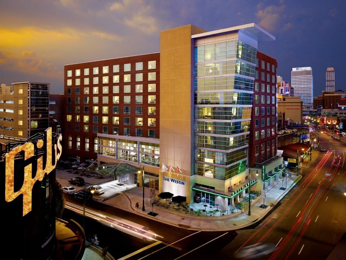 WESTIN MEMPHIS BEALE STREET HOTEL - Sheet2