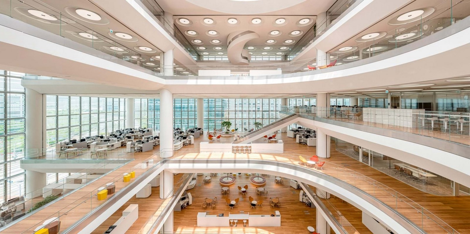 Hankook Technoplex On The Outskirts Of Seoul completed by Foster + Partners - Sheet4