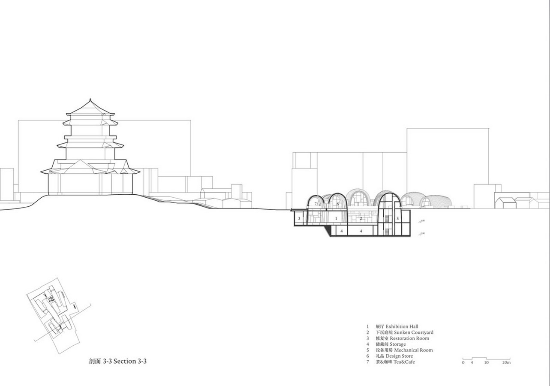 Giant Vaults From Recycled Old Kiln Bricks to transform into Jingdezhen Kiln Museum designed by Studio Zhu-Pei - Sheet3